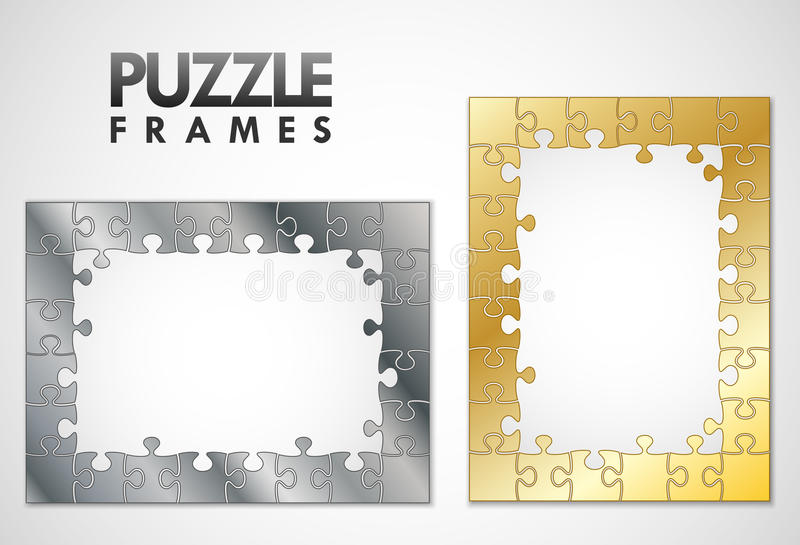 Download Puzzle Frames Stock Photo - Image: 23050220