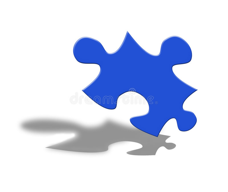 Puzzle game vector illustration