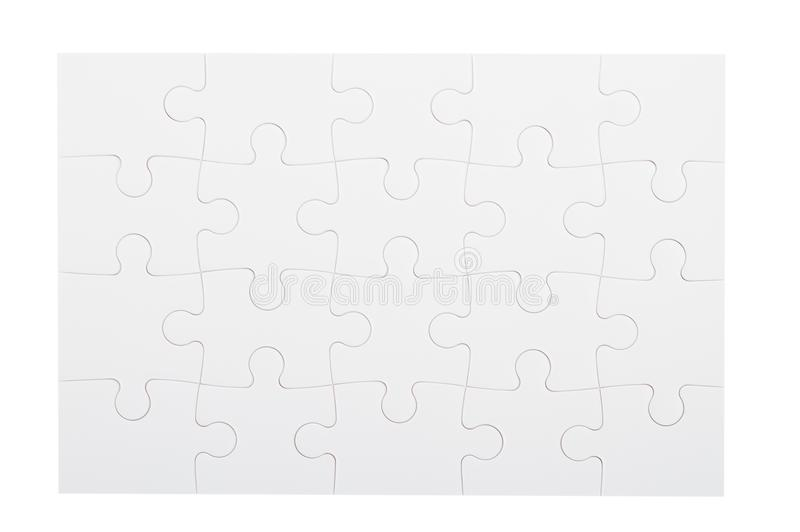 Puzzle game concept background. A puzzle game concept background in black and white royalty free stock photography