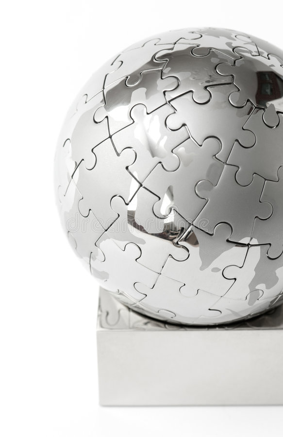Download Puzzle Globe 2 Royalty Free Stock Image - Image: 6378276