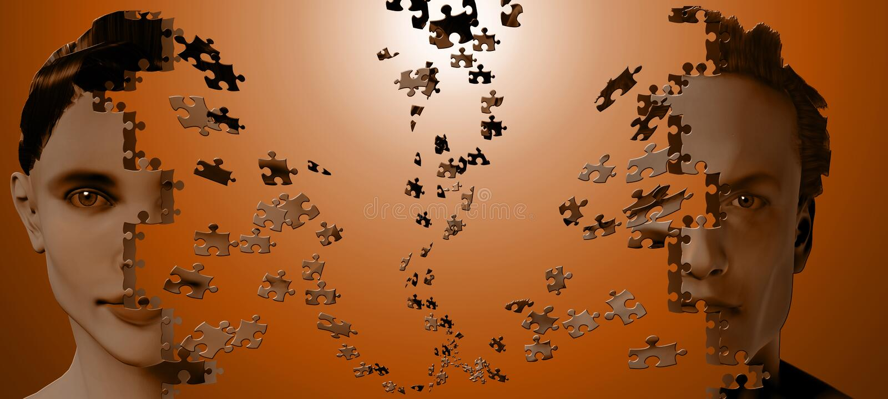 Puzzle Human vector illustration
