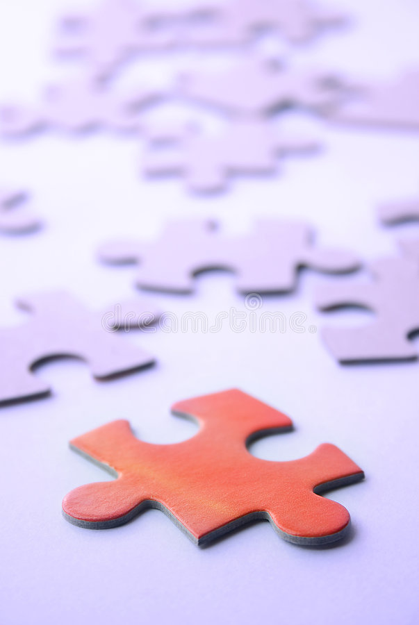 Free Puzzle - In Search Of Strategies Royalty Free Stock Photos - 42148
