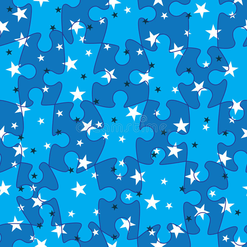 Download Puzzle Match Stars Seamless Pattern_eps Stock Photos - Image: 22532643