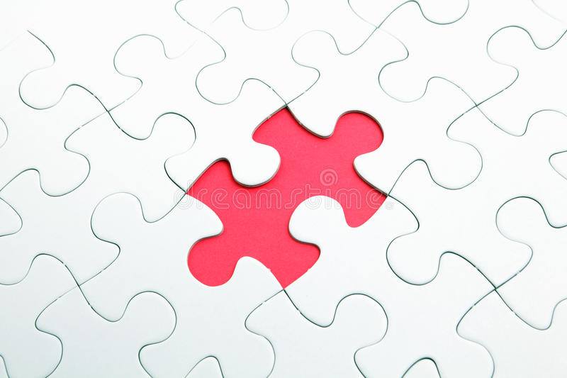 Download Puzzle with missing part stock image. Image of problem - 23483979