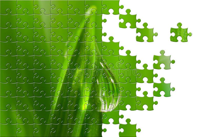Download Puzzle with missing pieces stock illustration. Image of jigsaw - 5179808