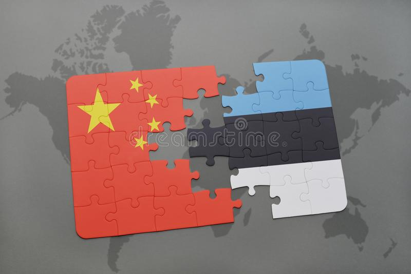 Puzzle with the national flag of china and estonia on a world map download puzzle with the national flag of china and estonia on a world map background gumiabroncs Gallery