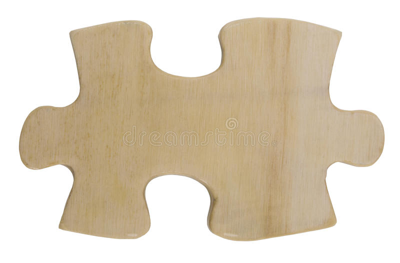 Puzzle one stock image