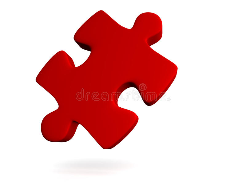 Puzzle piece stock illustration