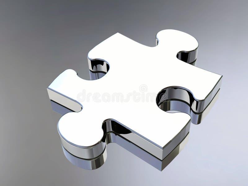 Puzzle piece stock illustration