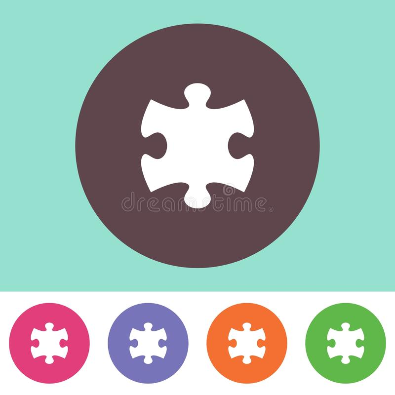Free Puzzle Piece Icon Royalty Free Stock Photography - 54218537