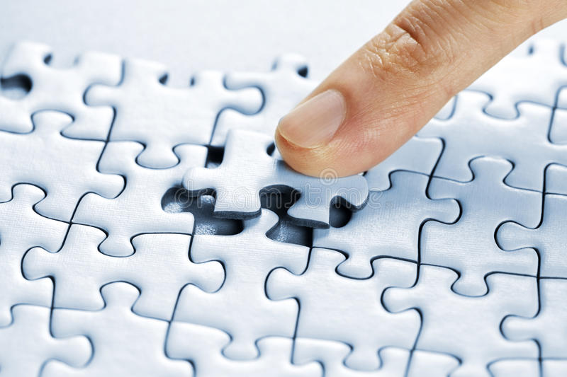 Download Puzzle pieces stock photo. Image of connecting, concept - 13993244