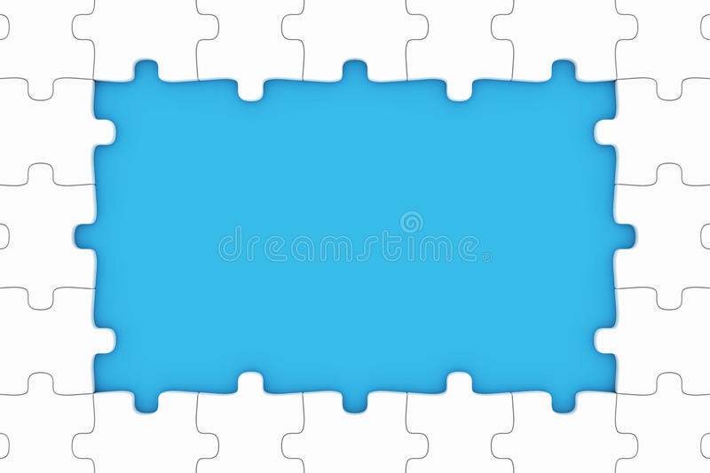 Download Puzzle pieces stock illustration. Image of design, group - 22108467