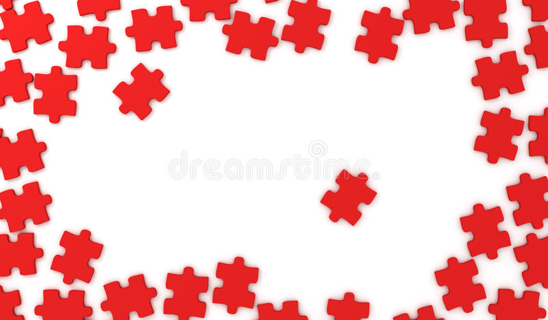 Download Puzzle pieces stock illustration. Image of illustration - 25018562