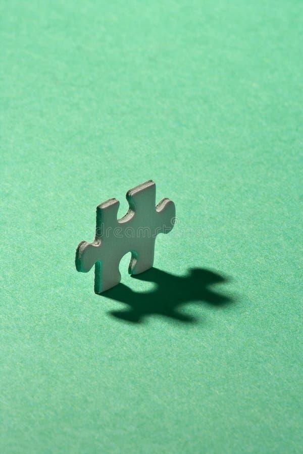 Puzzle simple photographie stock libre de droits