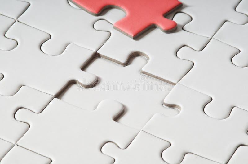 Puzzle - solution de problème image stock