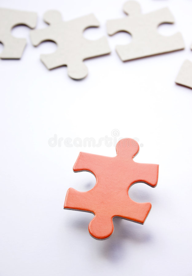 Download Puzzle - suspended piece stock illustration. Image of matter - 66624