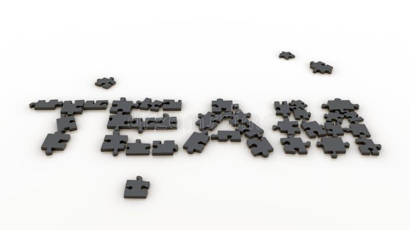 Download Puzzle team stock illustration. Illustration of business - 20335712