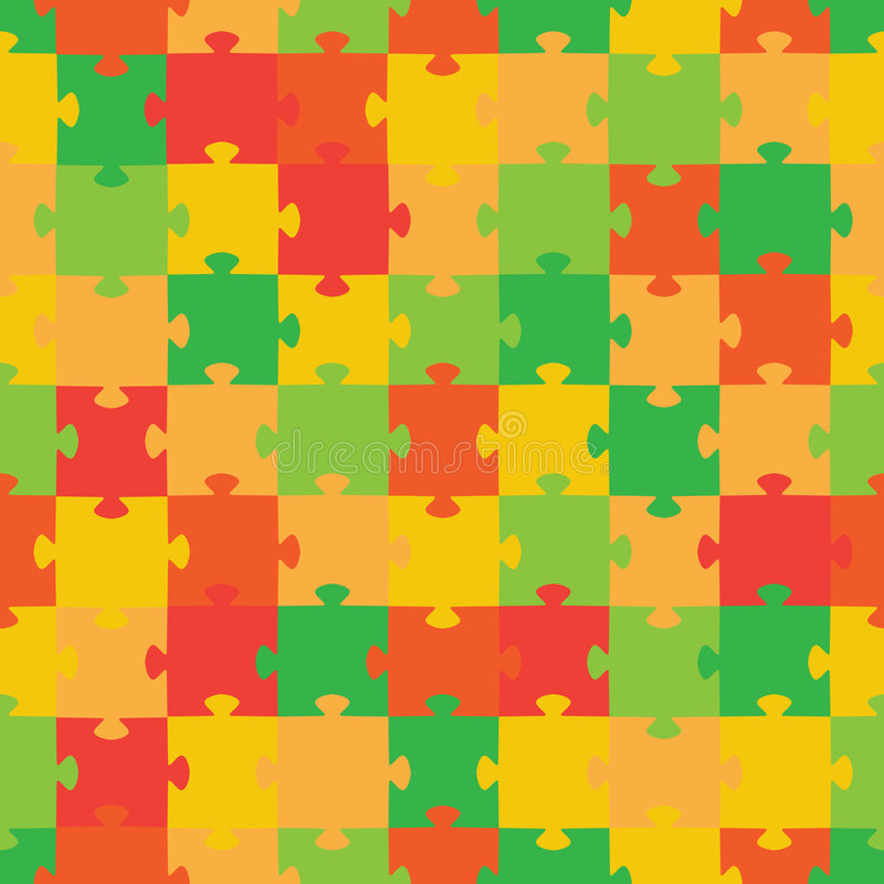 Puzzle. Vector Illustration Royalty Free Stock Photography