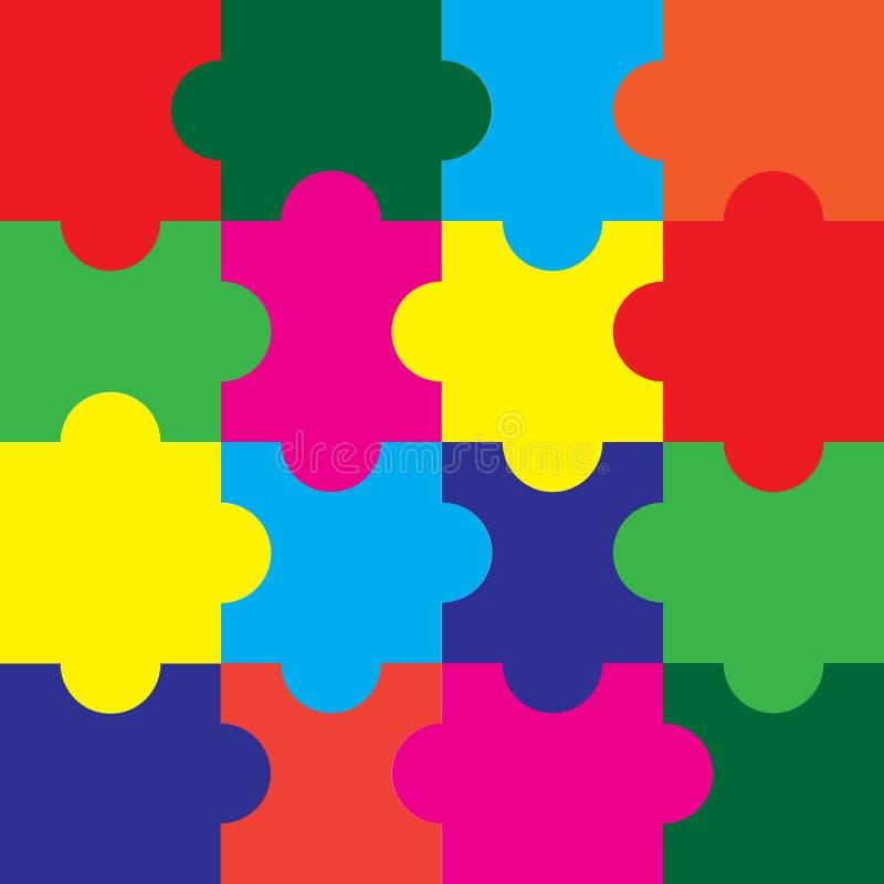 puzzle vettori royalty illustrazione gratis