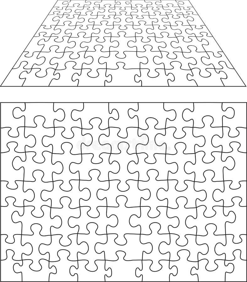 puzzle17907 向量例证