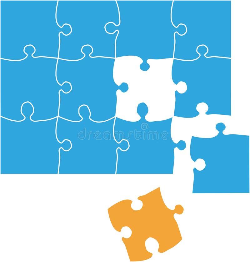 Puzzle2a3 ilustração royalty free