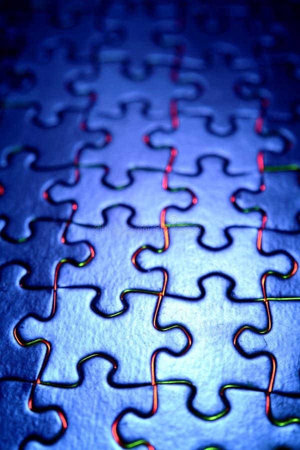Puzzle3 fotos de stock