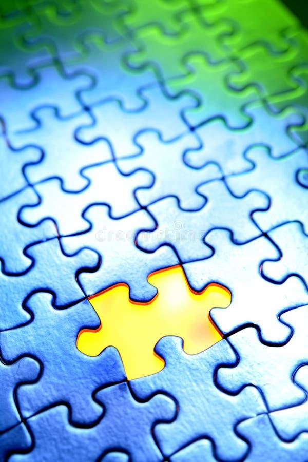 puzzle4 arkivfoton