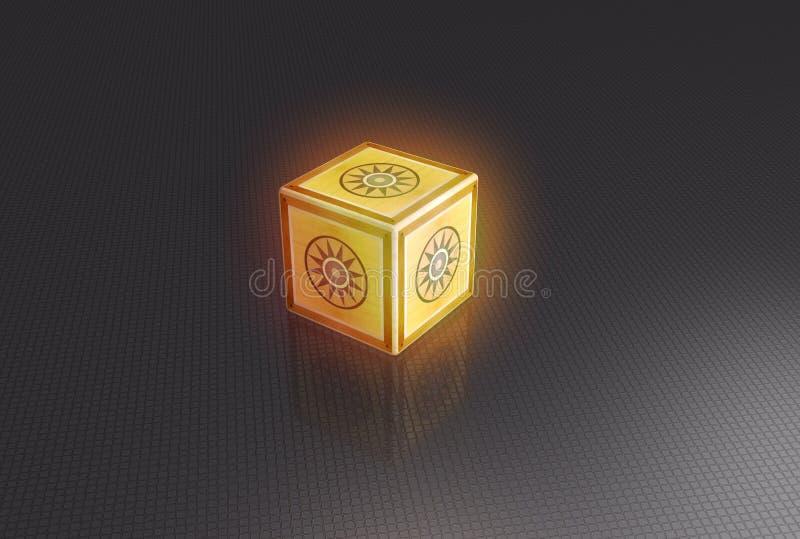 puzzlebox διανυσματική απεικόνιση