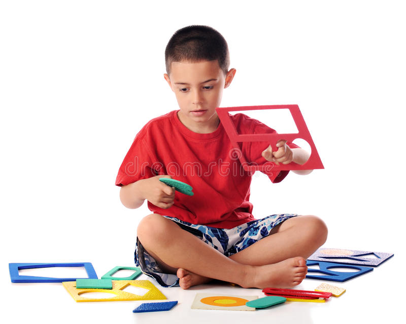 Download Puzzled stock photo. Image of diamond, shapes, child - 19761632