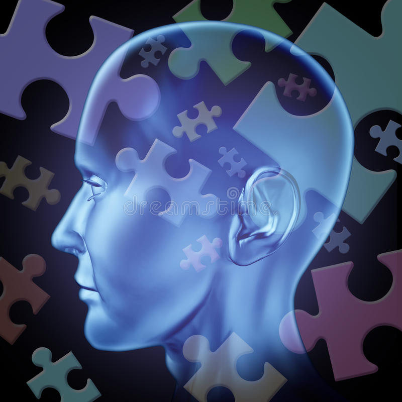 Download Puzzled Brain Royalty Free Stock Photo - Image: 21440335