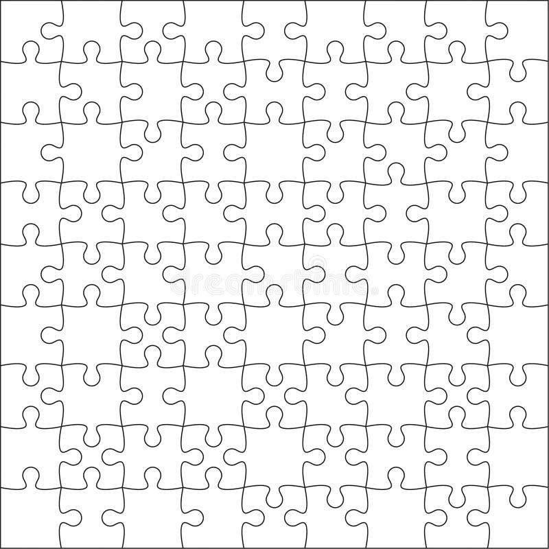 Puzzlefreier raum vektor abbildung