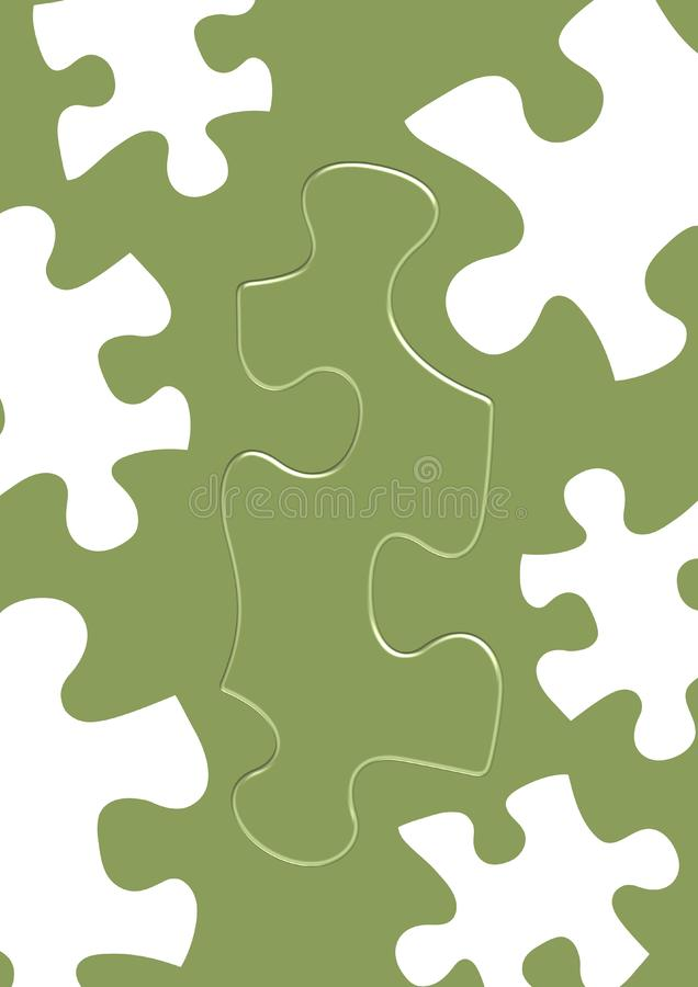 Download Puzzles stock illustration. Illustration of green, education - 2767415