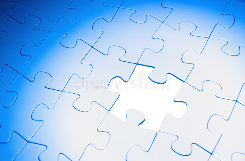 Puzzles photos stock