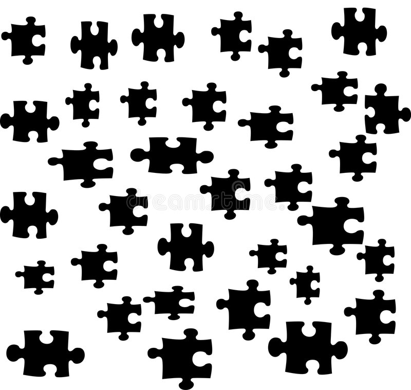 Free Puzzles Pieces Illustration Stock Photography - 4899262