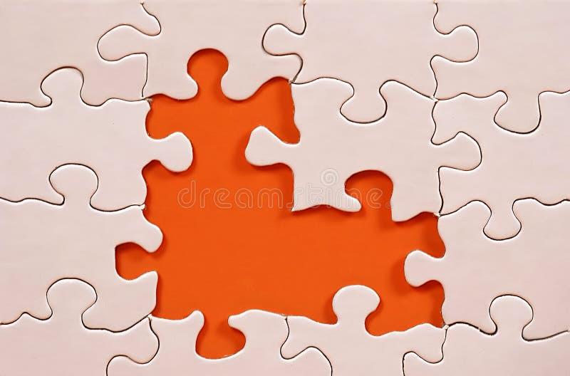 Puzzlespiel-Feld lizenzfreies stockfoto