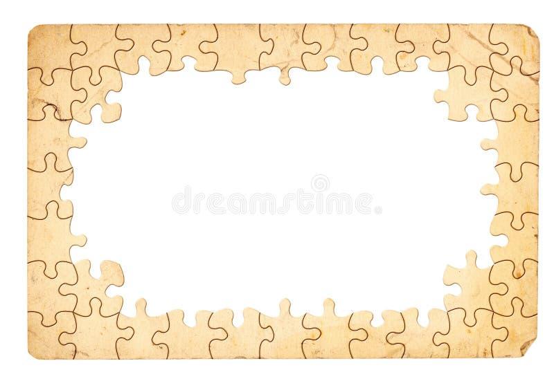 Puzzlespiel-Feld stock abbildung