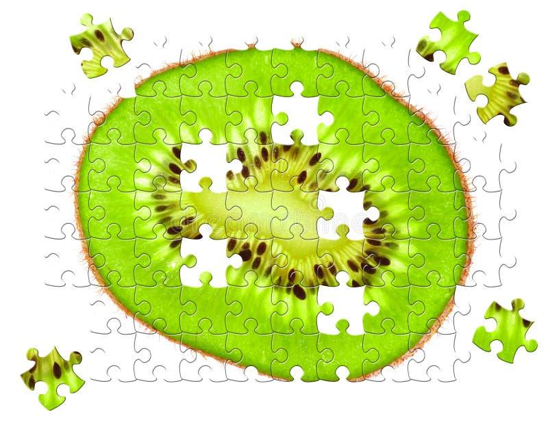 Puzzlespiel mit fehlenden Stücken lizenzfreie stockbilder