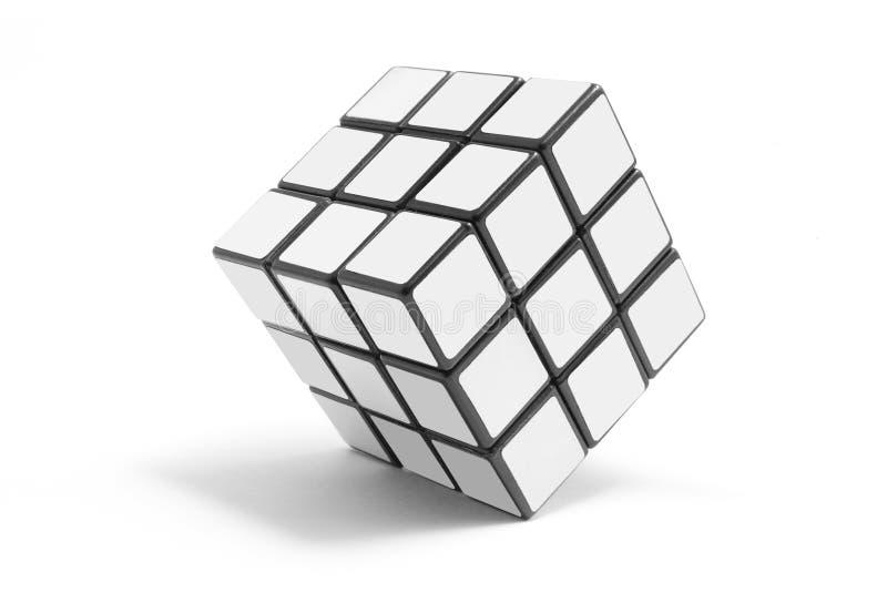 Puzzlespiel-Würfel stockbilder