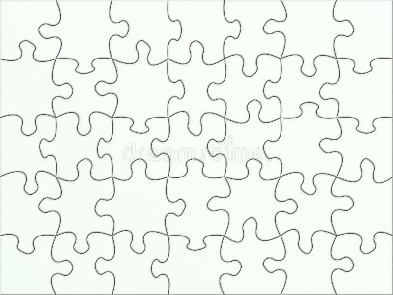 Puzzlespielbeschaffenheit lizenzfreie abbildung