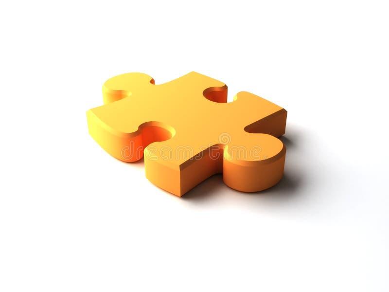 Puzzlespielstück lizenzfreie abbildung