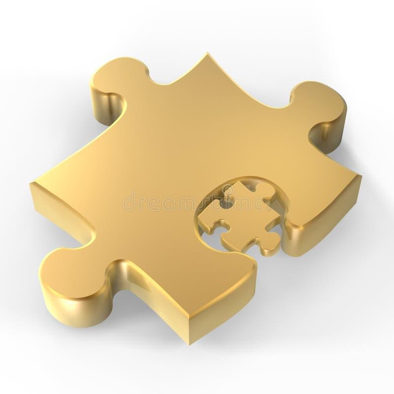 Puzzlespielstücke vektor abbildung