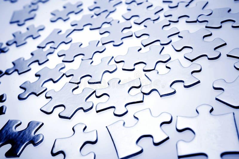 Puzzlestücke lizenzfreie stockbilder