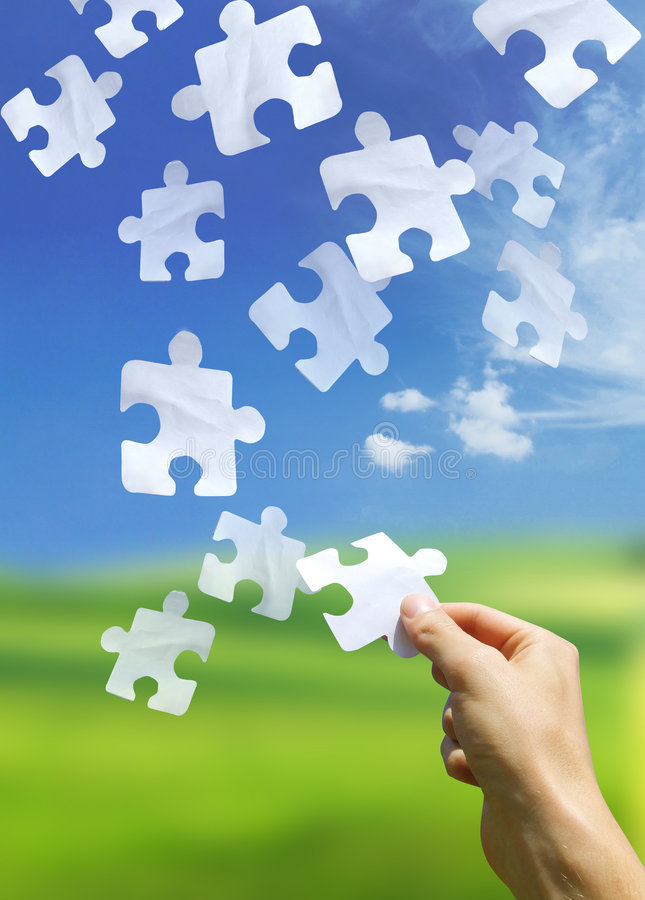 Free Puzzling Elements Royalty Free Stock Photo - 1108635