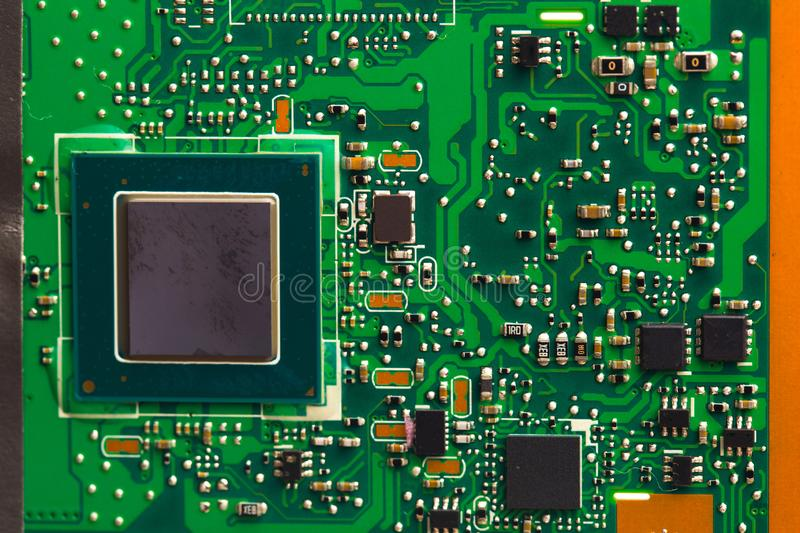 PVB mother board  isolated on white stock images