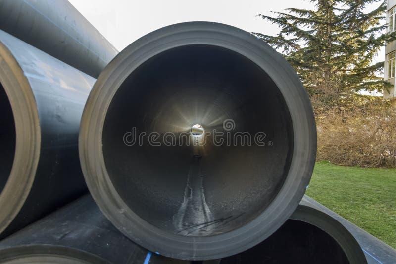 PVC水管 免版税图库摄影