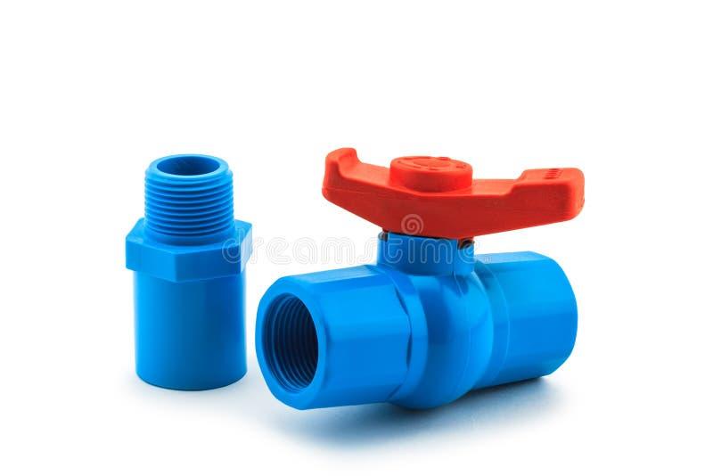 PVC ball valve royalty free stock photography