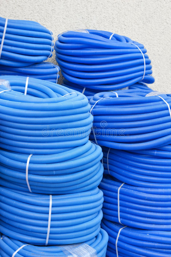 Download Pvc pipe stock photo. Image of pipework, plumbing, corrugated - 26378126