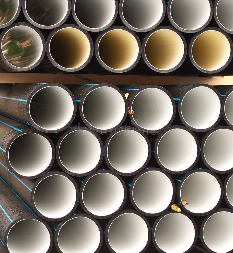 PVC pipes royalty free stock photo