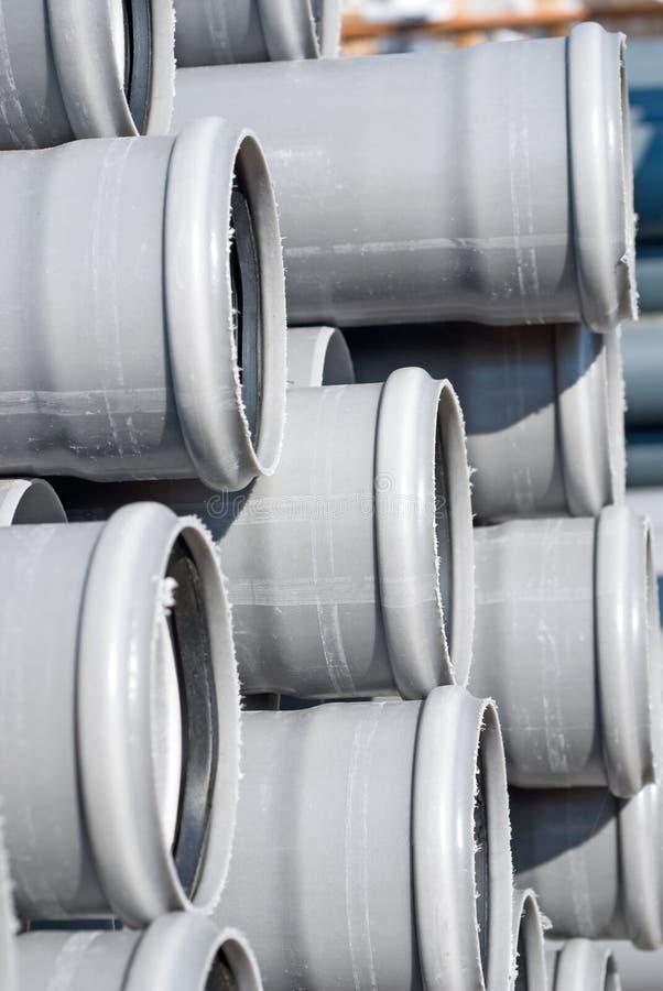 PVC pipes royalty free stock photos