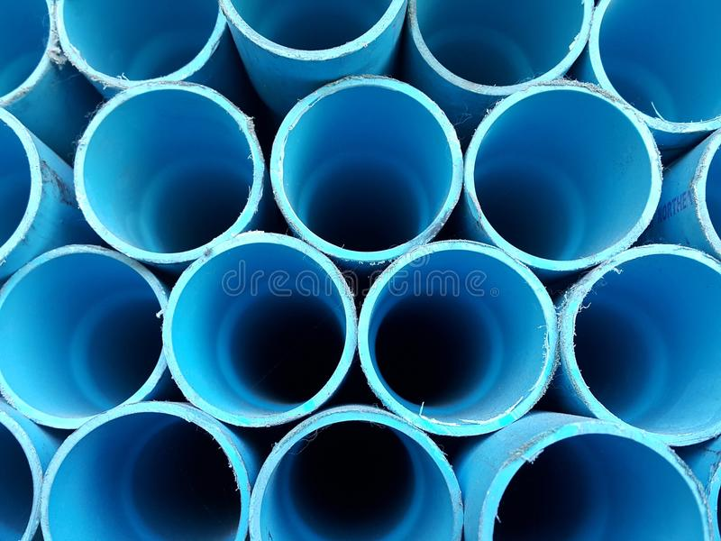 PVC pipes royalty free stock images
